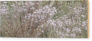 Wood Print featuring the photograph White Wild Flowers by Fortunate Findings Shirley Dickerson