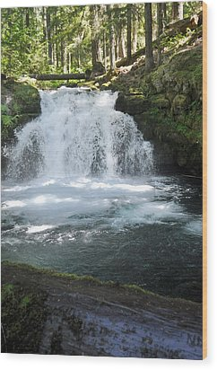 Whitehorse Falls Series 9 Wood Print