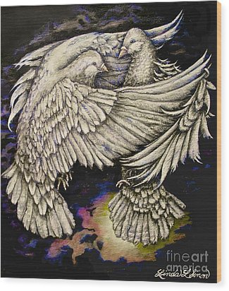 Whites Wood Print