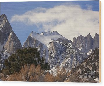Whitney Portal - California Wood Print by Glenn McCarthy Art and Photography