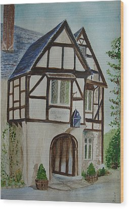 Whittington Inn - Painting Wood Print
