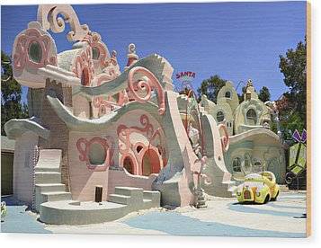 Whoville Wood Print by Ricky Barnard