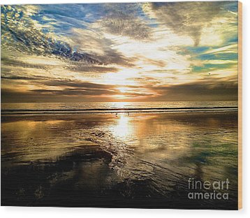 Wood Print featuring the photograph Wide Open by Margie Amberge