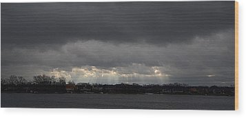 Wide View Wood Print by Dennis James