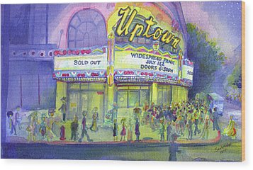 Widespread Panic Uptown Theatre  Wood Print by David Sockrider