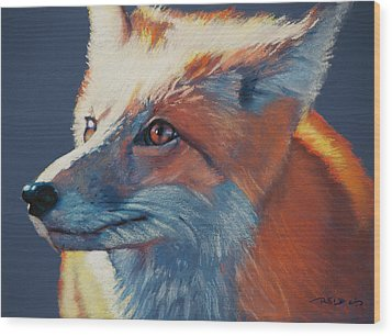 Wilbur Fox Wood Print