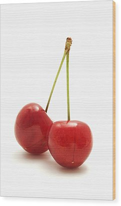 Wild Cherry Wood Print