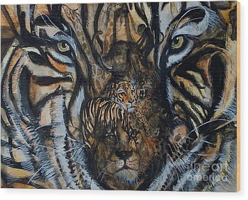 Wild Wood Print by Laneea Tolley