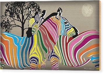 Wild Love 2 Wood Print by Mark Ashkenazi