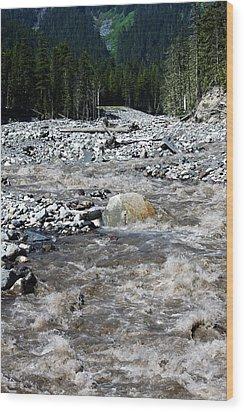 Wild River Wood Print