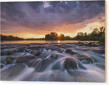 Wild River II Wood Print by Davorin Mance