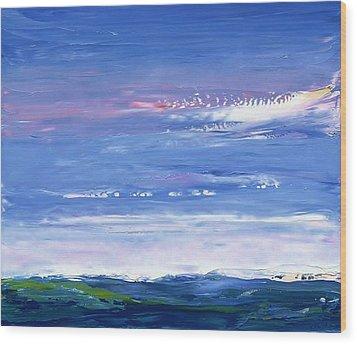 Wild Sea 1999 Wood Print