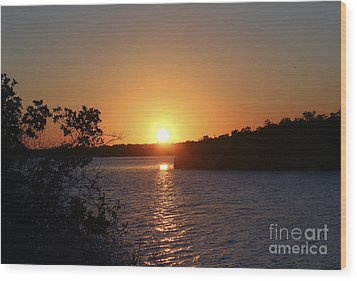 Wildcat Cove Sunset2 Wood Print