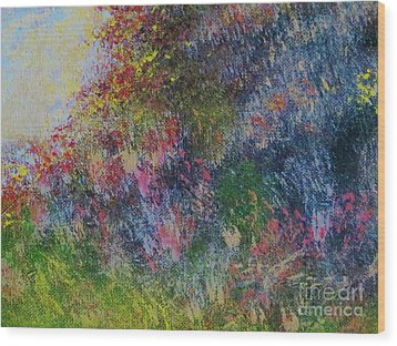 Wildflowers Wood Print by Tim Townsend