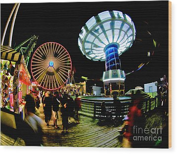 Wildwood Is A Happy Place Wood Print by Mark Miller