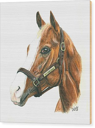Will Take Charge Wood Print