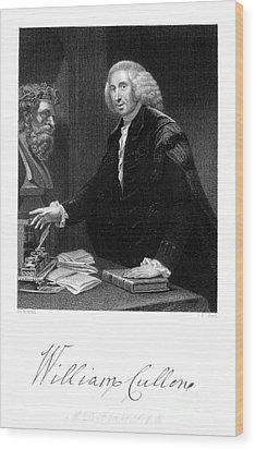 William Cullen (1710-1790) Wood Print by Granger