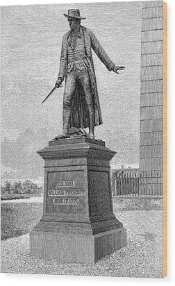 William Prescott (1726-1795) Wood Print by Granger