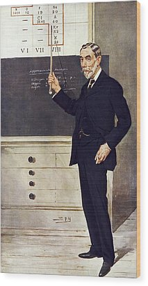 William Ramsay, Scottish Chemist Wood Print by Science Photo Library