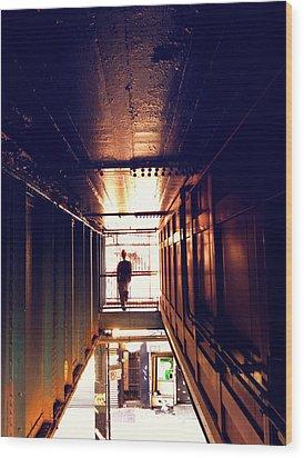 Williamsburg - Brooklyn - Hewes Street Overpass Wood Print by Vivienne Gucwa