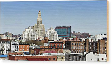 Williamsburg Savings Bank In Downtown Brooklyn Ny Wood Print