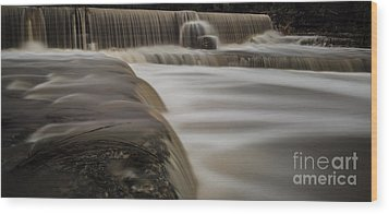 Wimberley Waterfall Wood Print