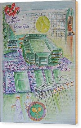 Wimbledon 2014 Wood Print