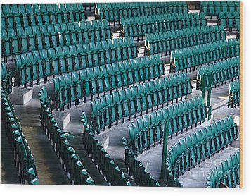 Wimbledon Scenes Wood Print by ELITE IMAGE photography By Chad McDermott