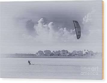 Wind Beneath My Wing Wood Print by Marvin Spates