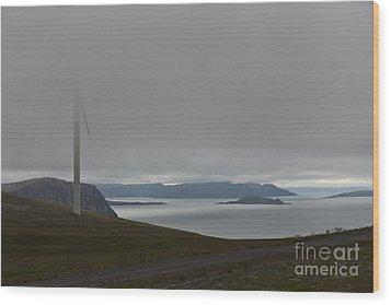 Wind Energy Wood Print by Heiko Koehrer-Wagner