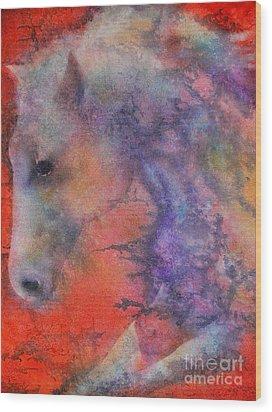 Wind Horse Wood Print by Robert Hooper