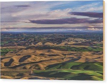 Wind Wood Print by Ryan Manuel