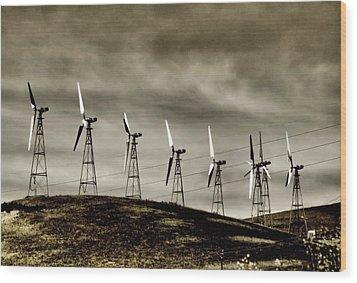 Wind Warriors Iv Wood Print