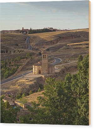 Winding Segovia Roads Wood Print by Viacheslav Savitskiy
