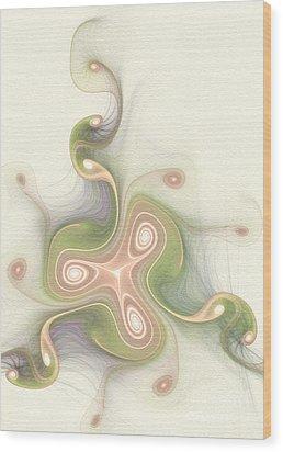 Winding Wood Print by Svetlana Nikolova