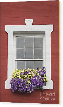 Window And Walls Triptych - Canvas 2 Wood Print by Natalie Kinnear