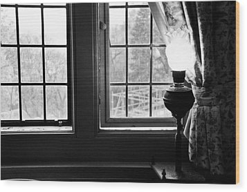 Window Wood Print by Fatemeh Azadbakht