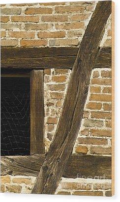 Window Frame Detail 1 Wood Print by Heiko Koehrer-Wagner