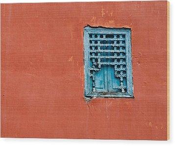 Window In Marrakesh Wood Print by Daniel Kocian