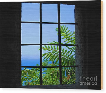Wood Print featuring the photograph Window Of Hope by Andreas Thust