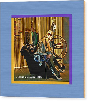 Window Shopping Wood Print by Joseph Coulombe