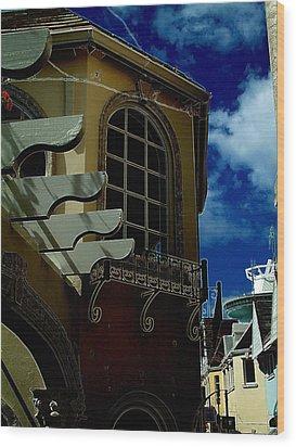 Window St Thomas Wood Print by John Holfinger