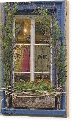 Windows Of Quebec 3 Wood Print
