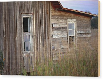 Wood Print featuring the photograph Windows On The World by Gordon Elwell