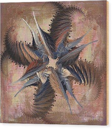 Winds Of Change Wood Print by Deborah Benoit