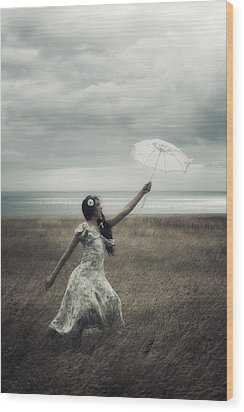 Windy Wood Print by Joana Kruse
