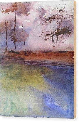 Windy Wood Print by Marsden Burnell