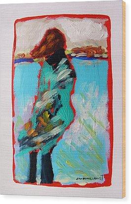Windy Morning Wood Print by John Williams