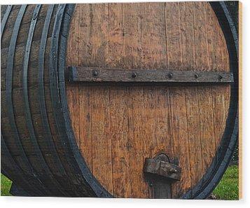 Wine Aplenty Wood Print by Frozen in Time Fine Art Photography