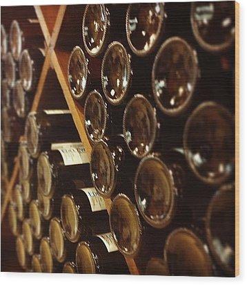 Wine Tour Wood Print